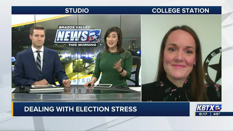 Dealing with election stress