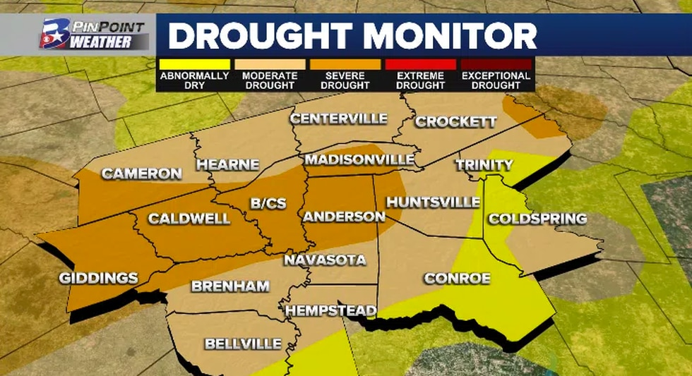 As of the 12/3 Drought Monitor update, slight improvements have been observed in our eastern...