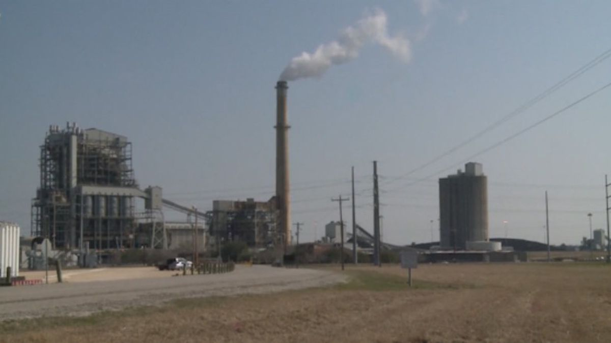 gibbons creek coal plant