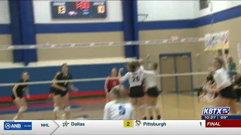 Rosehill takes over first place with 5 set win over Brazos Christian