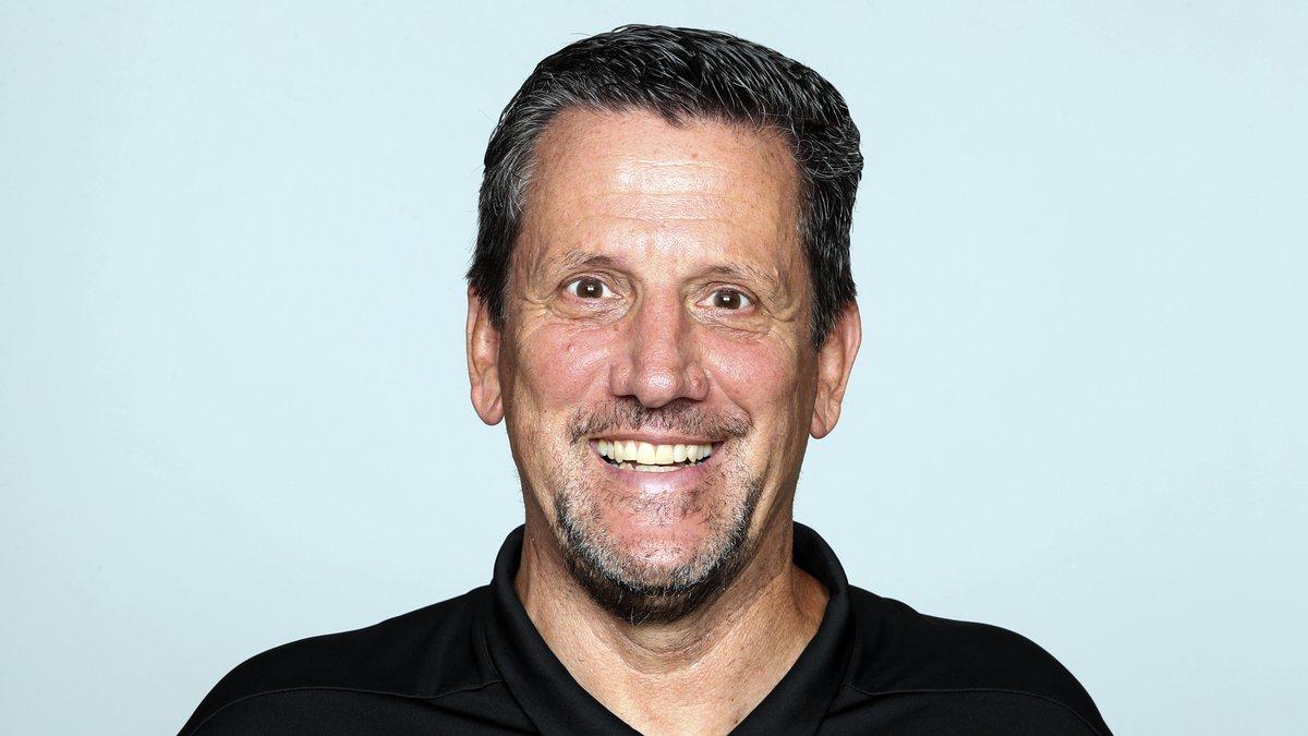 FILE - A 2019 file photo shows Greg Knapp of the Atlanta Falcons NFL football team. Knapp, an...