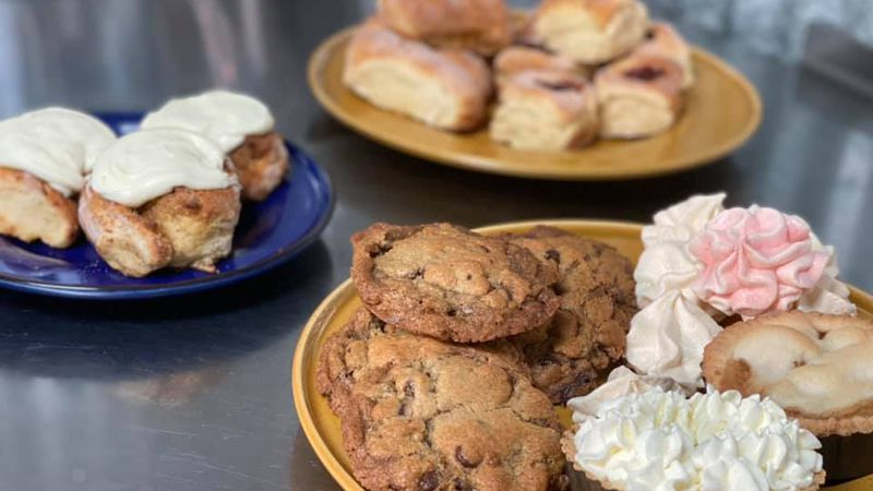 Muriel GF Bakery pastries and desserts