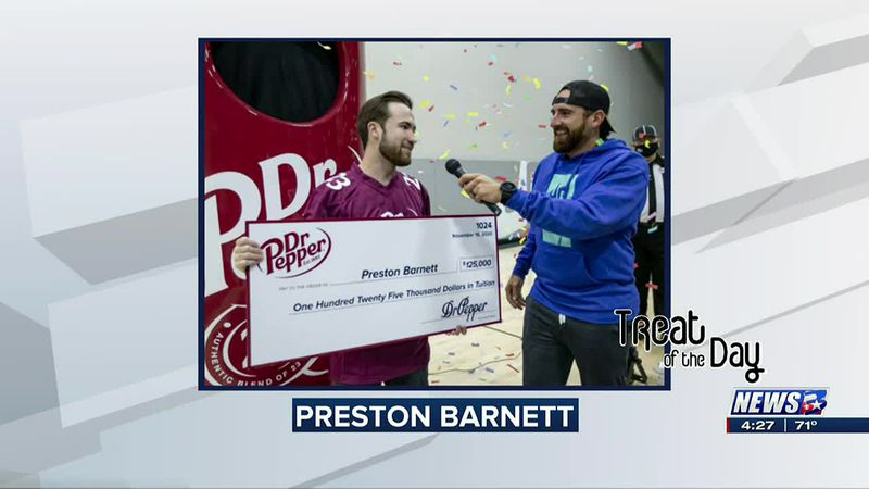 Treat of the Day: A&M student wins Dr. Pepper tuition giveaway