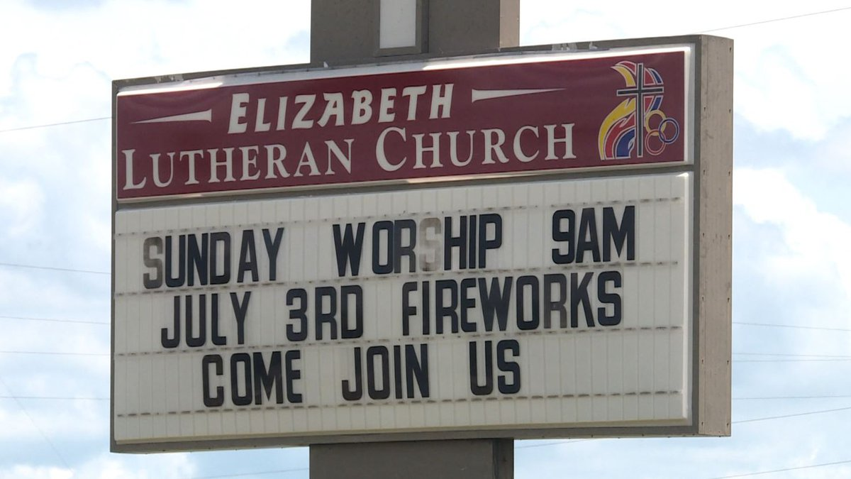 The church is celebrating 25 years of fireworks for their annual July 3rd celebration.