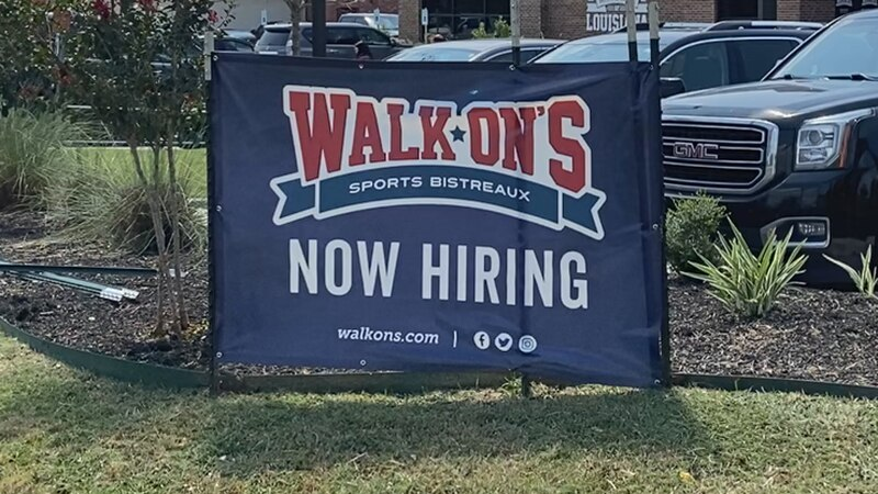 Walk-On's Sports Bistreaux in College Station is just one of many local businesses looking to...