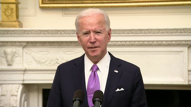Newly inaugurated President Joe Biden will turn his attention next to the economy.