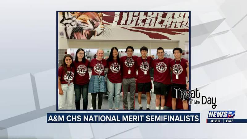 Treat of the Day: CSISD National Merit Scholarship semifinalists