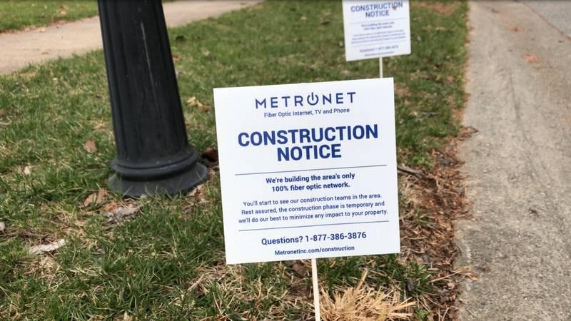 Metro Net Fiber coming to Bryan, TX