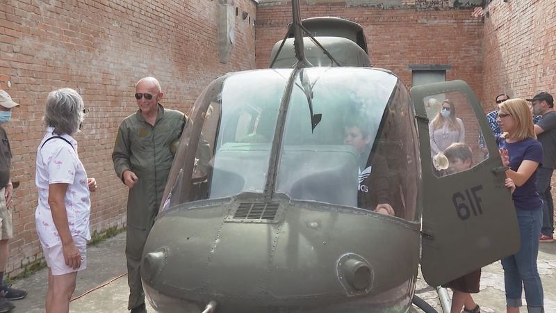 Vietnam Helicopter unveiling