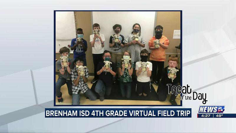 Treat of the Day: Brenham ISD virtual 4th grade field trip