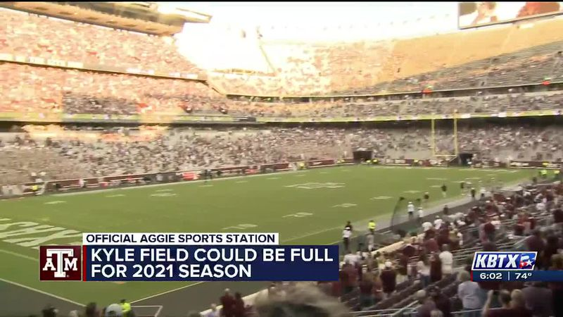 Texas A&M Athletic Director Ross Bjork says Kyle Field could be at full capacity for the 2121...