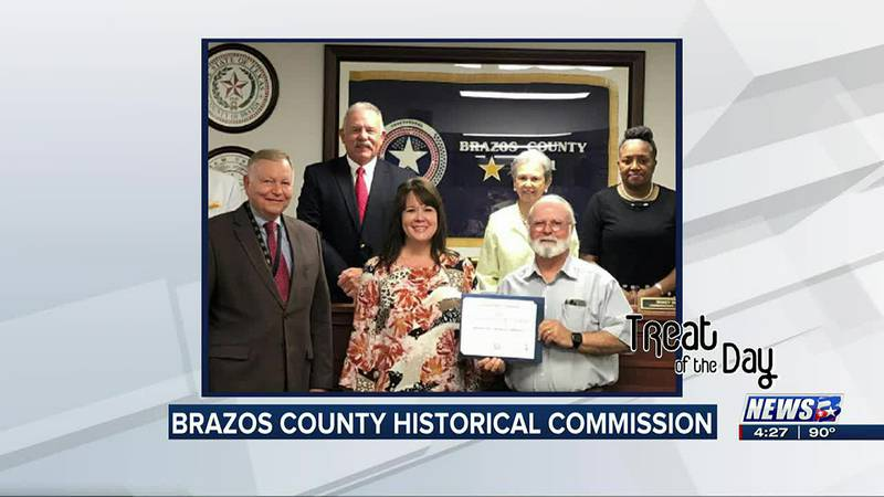 Treat of the Day: Brazos County Historical Commission wins award