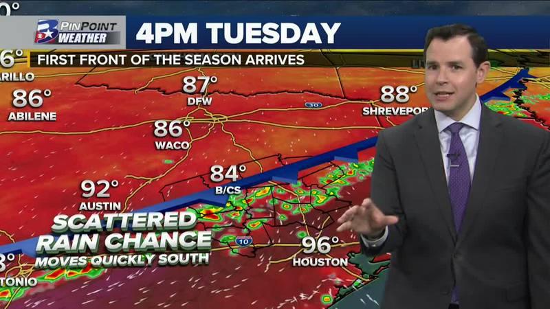 Sunday Evening Weather Update 9/19