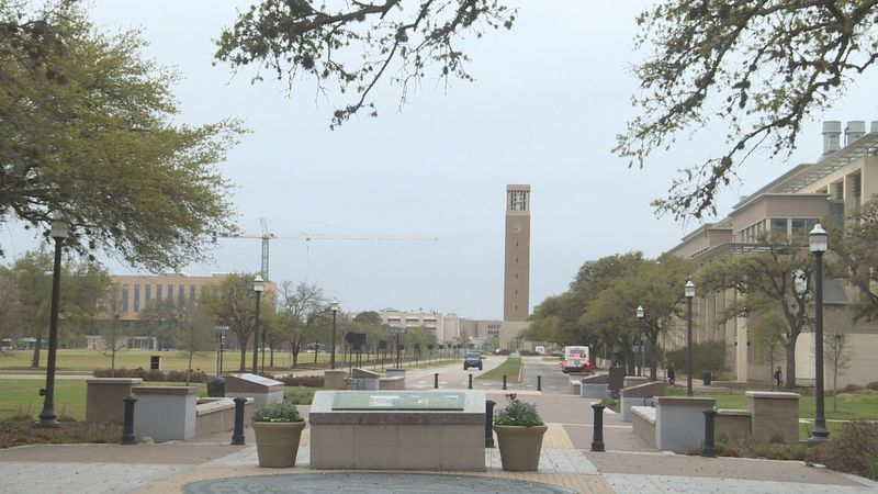 Texas A&M began a mandatory testing program for over 30,000 students Tuesday in part because of...