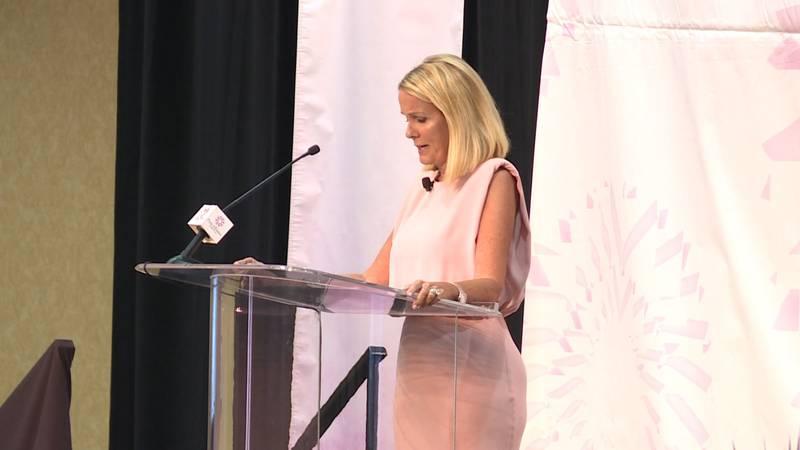 Reality TV star Lori Allen was the keynote speaker.