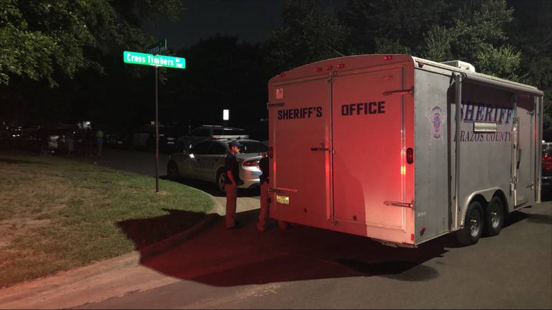 Deputies say there is no threat to the public but they're still asking residents in the area to...