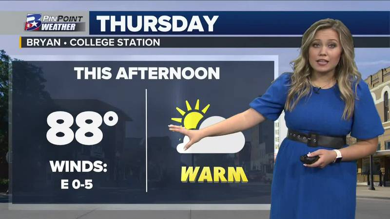 Thursday Afternoon Weather Update 10/21