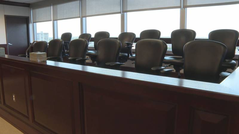 Brazos County jury duty has been cancelled for the week of Aug 23.