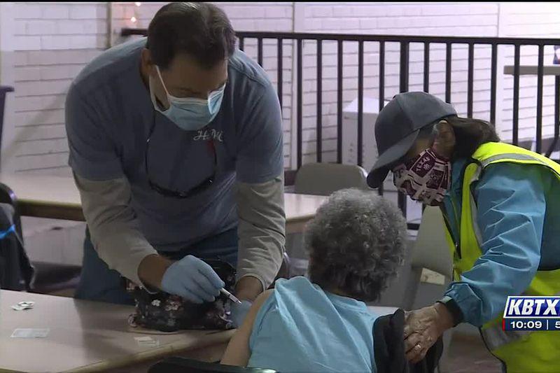 Bryan Ballroom vaccine subhub administers 227 shots to local Hispanic community Sunday