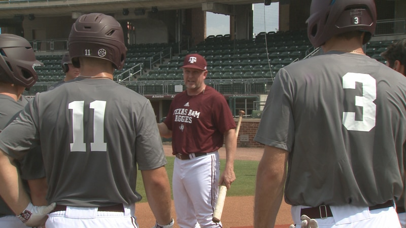 Jim Schlossnagle at first day of Fall Practice