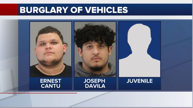Three teens were arrested in the Copperfield Neighborhood Wednesday morning.