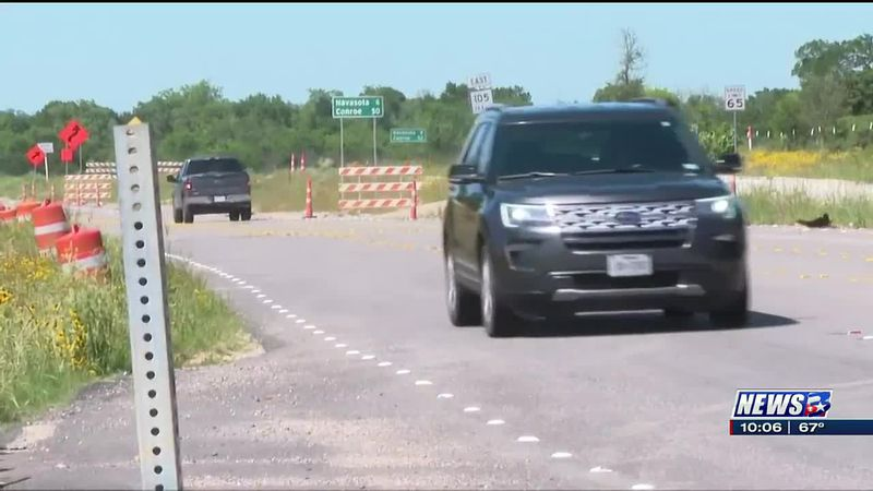 Part of new Highway 105 bridges expected to open this summer