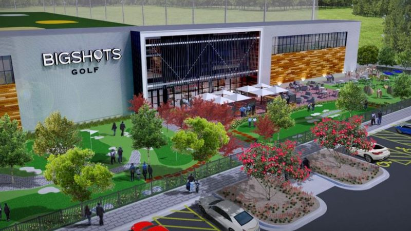 BigShots Golf Aggieland, the two-story, 40,000-square-foot dining and entertainment venue, will...