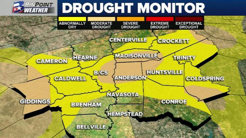 The US Drought Monitor for our area for the week of November 5, 2020.
