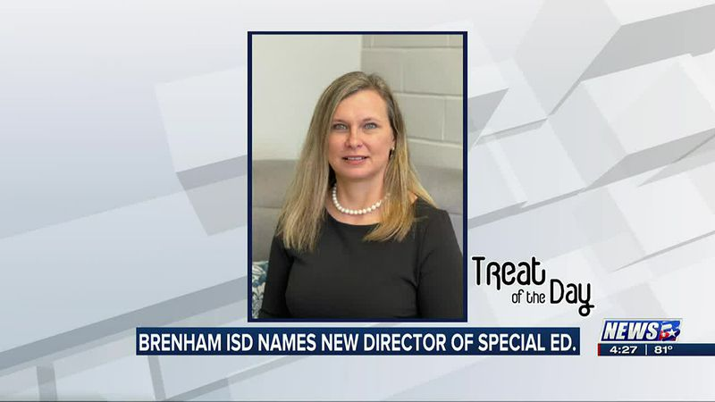 Treat of the Day: Brenham ISD names new Director of Special Education Services