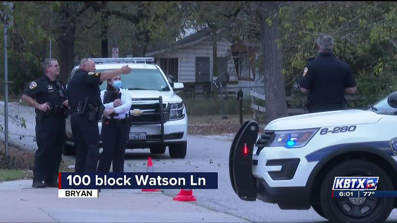 Bryan police investigating shooting on Watson Lane