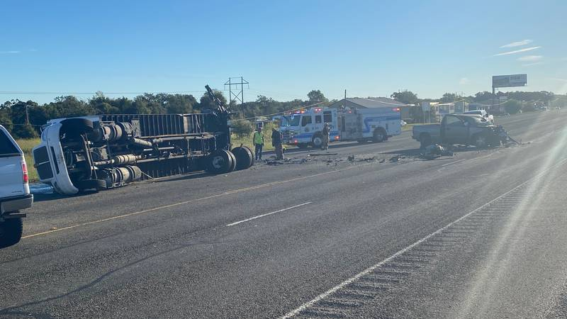Wreck on Hwy 30