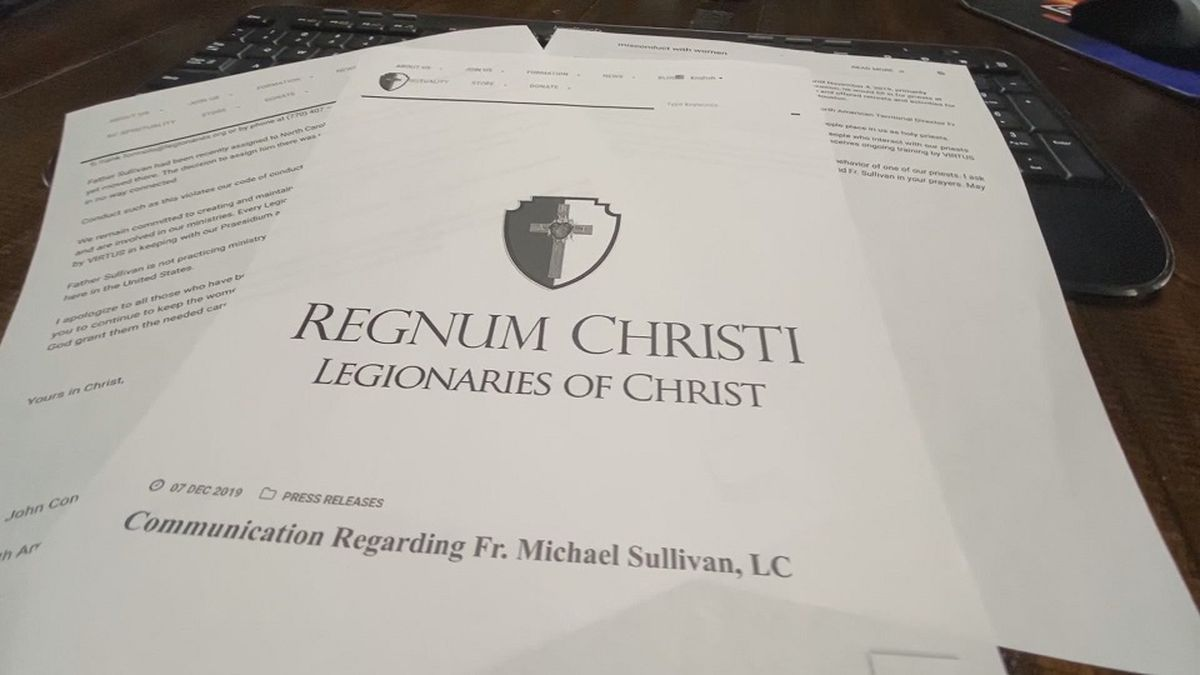 The Legionaries of Christ on Saturday released a public statement regarding the ongoing investigation into Father Michael Sullivan.