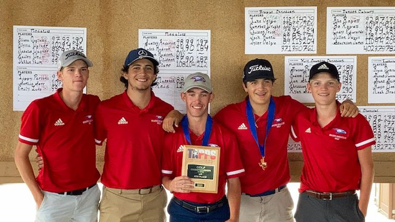 The Brazos Christian boys golf team competed on Tuesday at the TAPPS State Tournament in Waco...