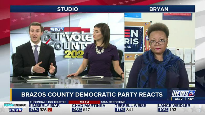 Wanda Watson is the chair of the Brazos County Democratic Party.
