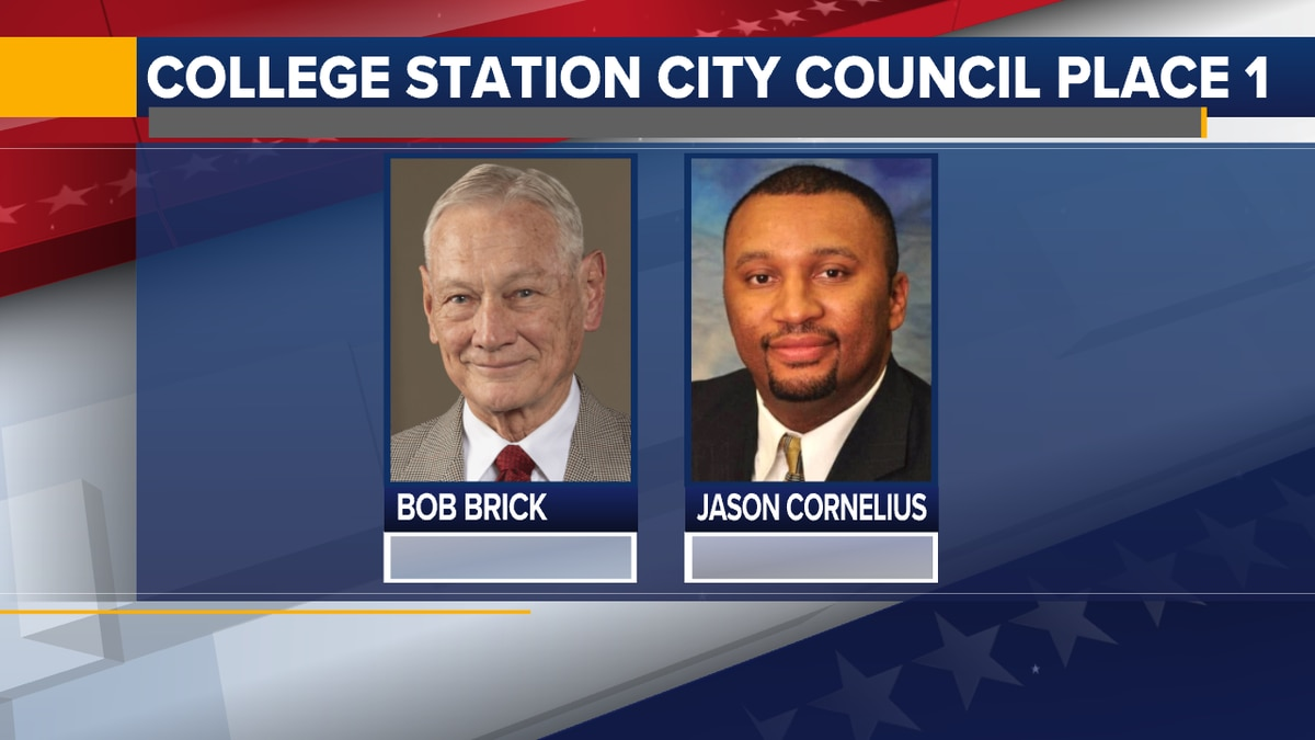 The two candidates running for College Station City Council Place 1