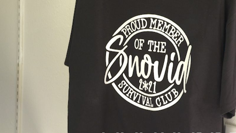 Local business owner selling t-shirts to help raise money for local charities following last...