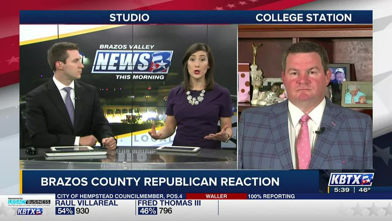 Brazos County Republican Chair discusses Tuesday's election results