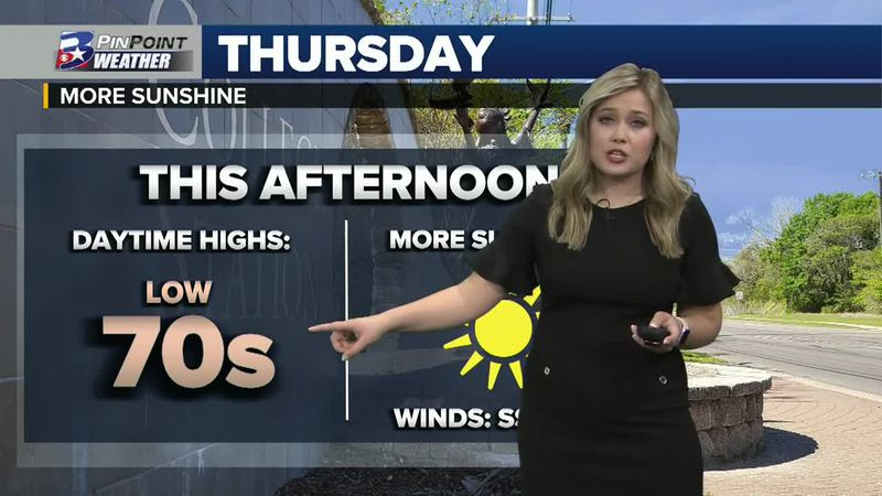 Thursday Afternoon Weather Update 3/4